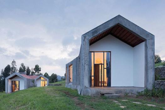 MASS Design Group's Butaro Doctor's Housing in Rwanda. Image © Iwan Baan