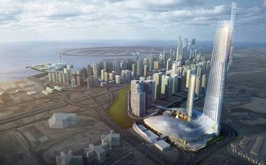 BURJ 2020; Dubai, United Arab Emirates / RNL Design. Image Courtesy of The American Architecture Awards
