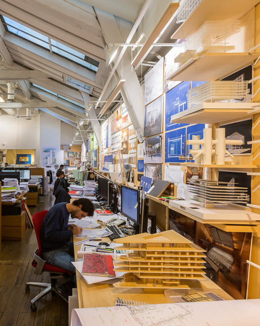 Renzo Piano Building Workshop (RPBW). Image © Marc Goodwin