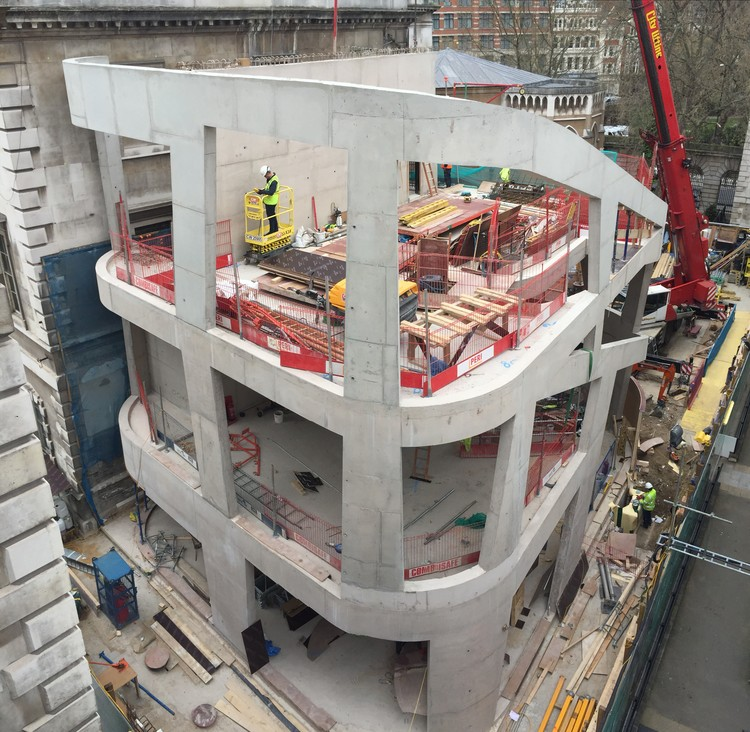 Maggies Centre Barts. Image © Steven Holl Architects