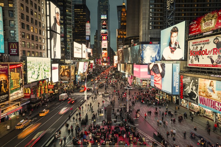 Times Square Celebrates Grand Opening of Snøhetta-Designed Transformation, © Michael Grimm