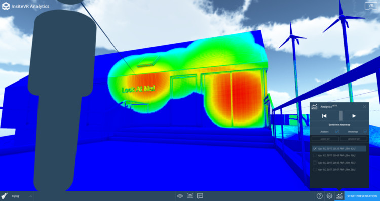 This New VR Analytics Tool Allows Architects to Track Users' Attention Within a Virtual Model, via InsiteVR