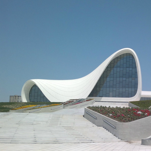 Heydar Aliyev Center / Zaha Hadid Architects; Shortlisted - Culture, 2013. Image Courtesy of World Architecture Festival