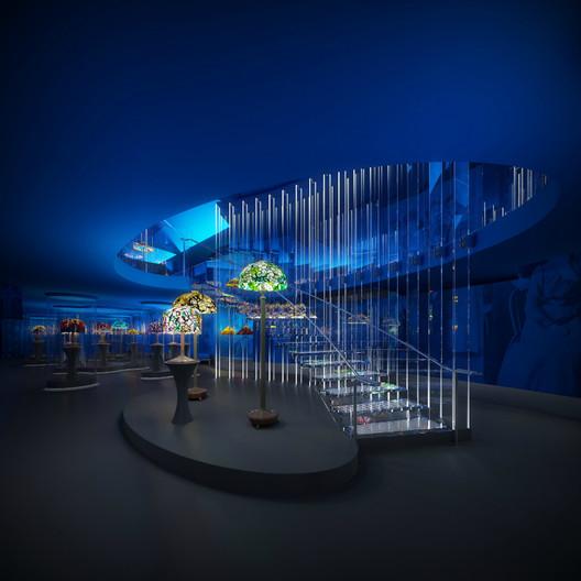 Cultural Centre / Eva Jiricna Architects Ltd; Entrant - Culture, 2011. Image Courtesy of World Architecture Festival
