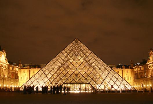 Le Grand Louvre in Paris. Image © Greg Kristo