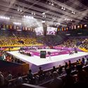 Downtown Sports Park - LA Convention Center - Taekwondo. Image Courtesy of LA 2024
