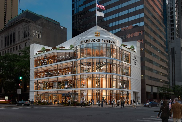 World's Largest Starbucks to Open on Chicago's Magnificent Mile, Courtesy of Starbucks