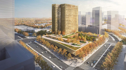 KPMB Architects and West 8 Urban Design & Landscape Architecture. Image Courtesy of Build Toronto