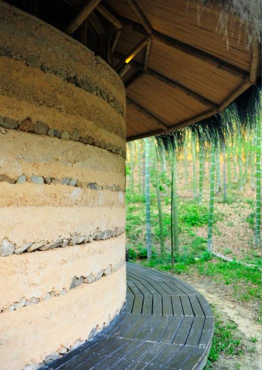 Pottery Art Pavilion wall. Image © Youkun Chen