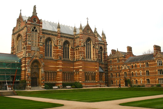 Keble College Chapel, Oxford, by William Butterfield (1867-1883). Image © Timothy Brittain-Catlin