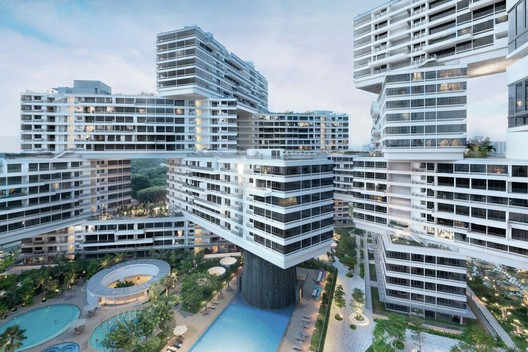 2015 World Building of the Year Winner, The Interlace (Singapore) / OMA and Ole Scheeren. Image © Iwan Baan