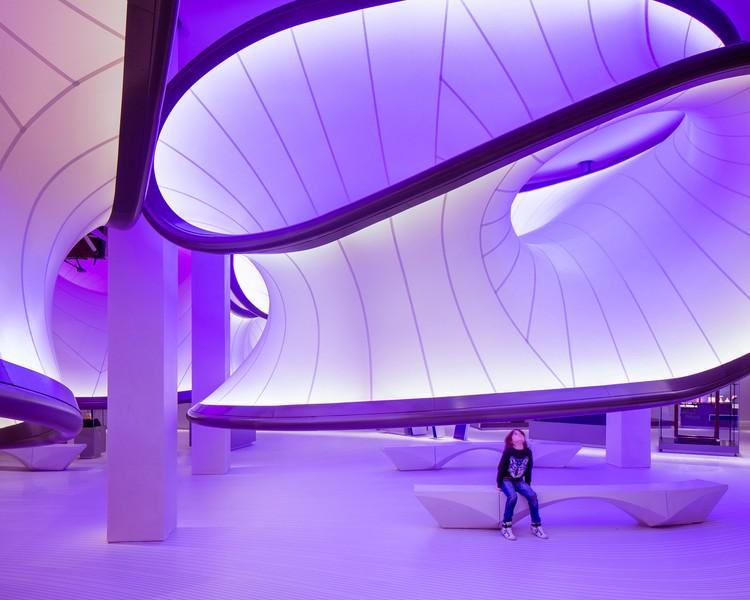 © Luke Hayes. ImageMathematics – The Winton Gallery / Zaha Hadid Architects