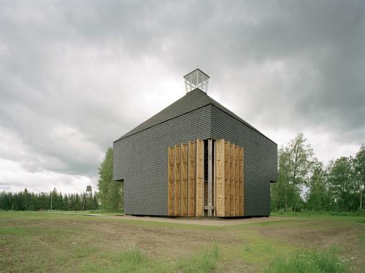 Kärsämäki Church / OOPEAA. Image © Jussi Tiainen