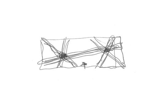 Sketch. Image Courtesy of Cruz y Ortiz Arquitectos