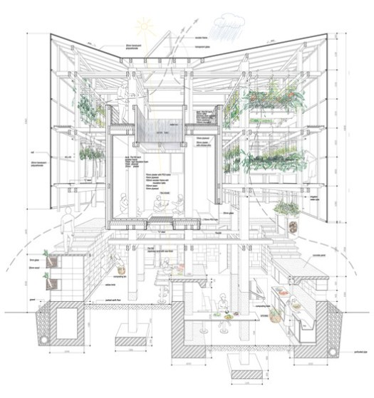 vía College of Environmental Design UC Berkeley + Kengo Kuma & Associates