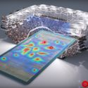 Fiber optic pitches could display real time information to fans. Image Courtesy of HOK