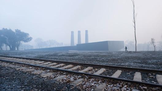 View from railway. Image © Yao li