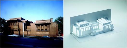 Unity Temple. Image Courtesy of Lawrence King Publishing