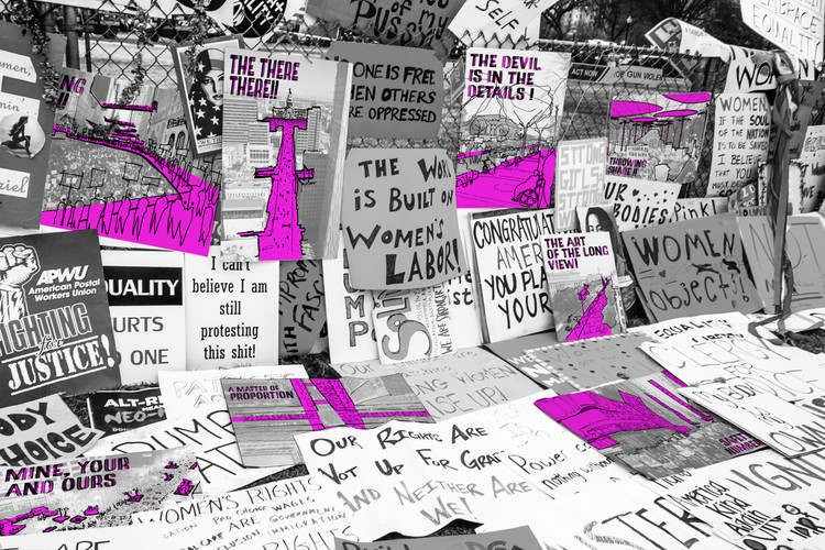 8 Ways We Can Improve the Design of Our Streets for Protest, © Gina Ford and Martin Zogran