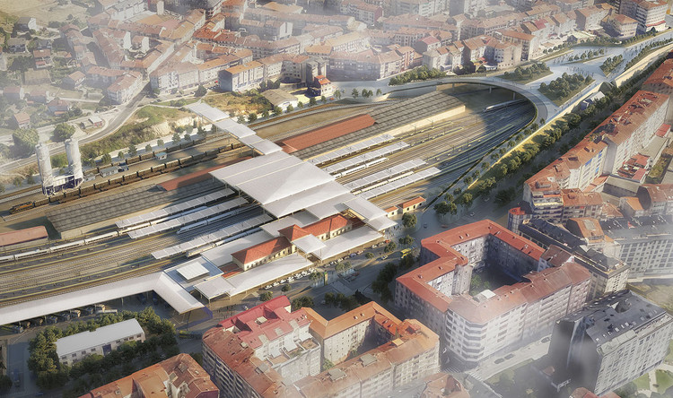 Foster + Partners Reveal Updated Designs for Intermodal Transportation Hub in Spain, © Foster + Partners