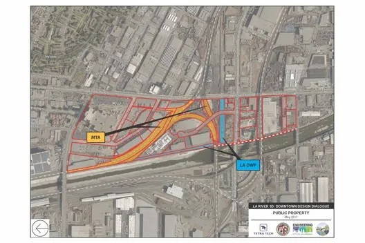 From the Los Angeles River Downtown Design Dialogue (City of Los Angeles, Bureau of Engineering). Used by Permission from Tetra Tech