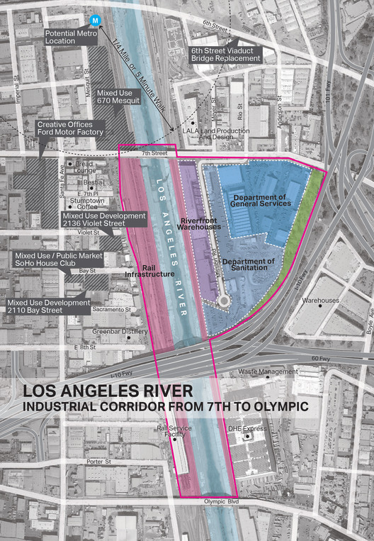 From the Los Angeles River Downtown Design Dialogue (City of Los Angeles, Bureau of Engineering). Used by Permission from AECOM