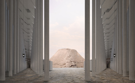 Machaerus overlooking the sacred hill. Image © Akarachai Padlom, Eleftherios Sergios, Nasser Alamadi