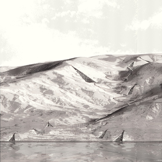 Elevation of the Dead Sea development with Machaerus at the top. Image © Akarachai Padlom, Eleftherios Sergios, Nasser Alamadi