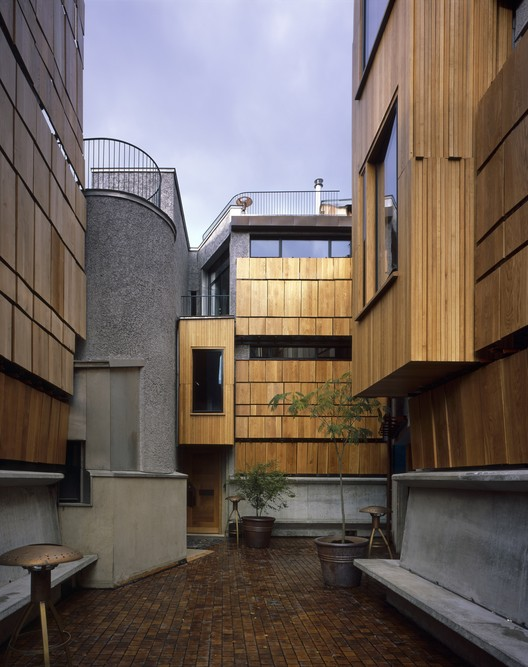 Walmer Yard / P Salter and Associates with Mole Architects John Comparelli Architects © Hélène Binet