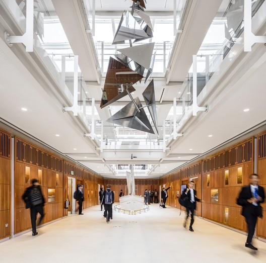 The Laboratory, Dulwich College / Grimshaw © Daniel Shearing