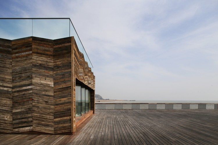 Hastings Pier / dRMM Architects © Alex de Rijke