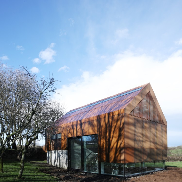 Fallahogey Studio / McGarry-Moon Architects Ltd © Adam Currie