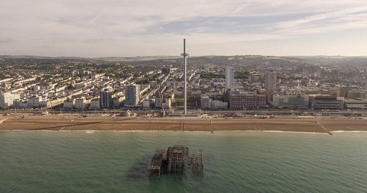 British Airways i360 / Marks Barfield Architects © Visual Air