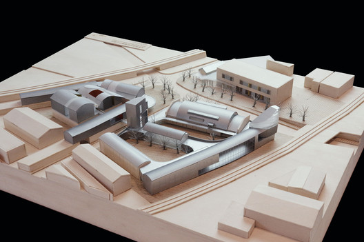 Model. Image Courtesy of Atelier Liu Yuyang Architects