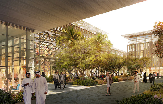 Masdar City Phase 2. Image Courtesy of CBT