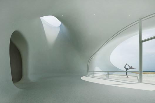 Studio. Image Courtesy of DUNE ART SPACE