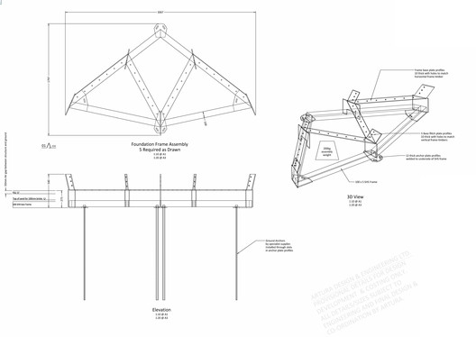 Foundation Frame Assembly Details