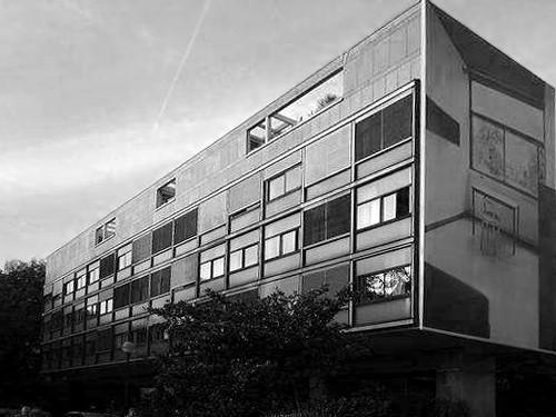 Pavilion Suisse by Le Corbusier. Image Courtesy of Atelier FCJZ