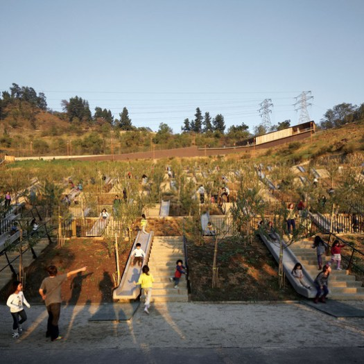 Parque Bicentenário Infantil / ELEMENTAL. Image© Cristobal Palma