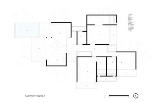 Floor Plan Module A
