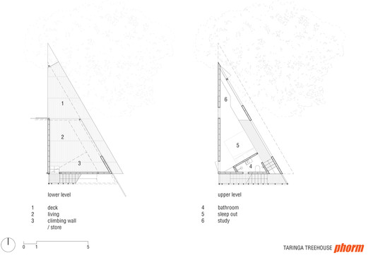 Lower Level / Upper Level Plan