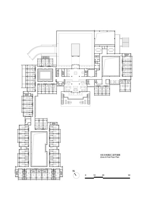 Zone A First Floor Plan