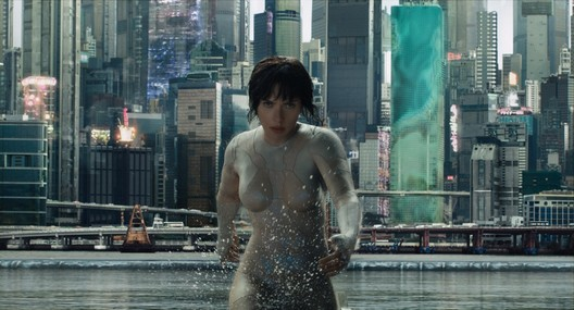 "Still from ""Ghost in the Shell"" (2017) directed by Rupert Sanders. Image Courtesy of Strelka Magazine"