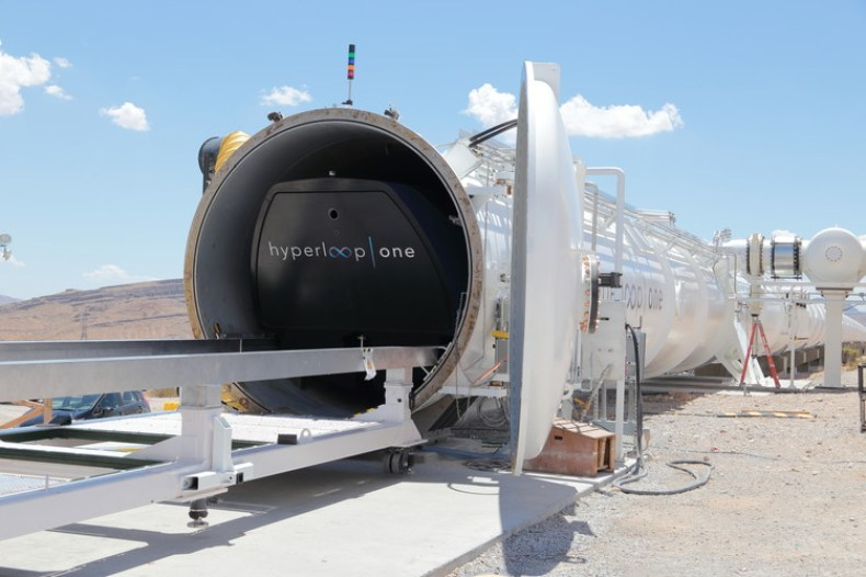 Cortesía de Hyperloop One