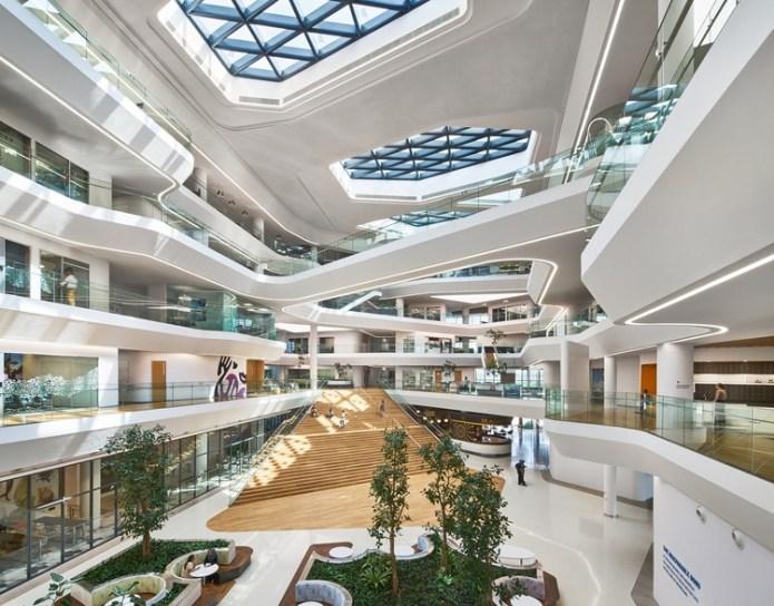 Unilever Headquarters Aedas Archdaily