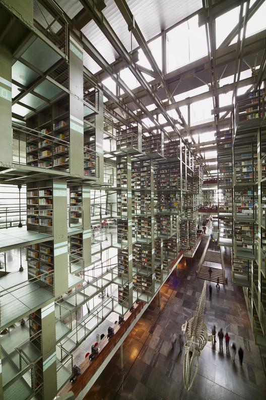 Biblioteca Vasconcelos. Imagen © Yoshihiro Koitani