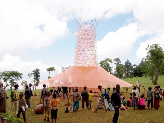 Warka Water / Arturo Vittori. Image Courtesy of Design Museum
