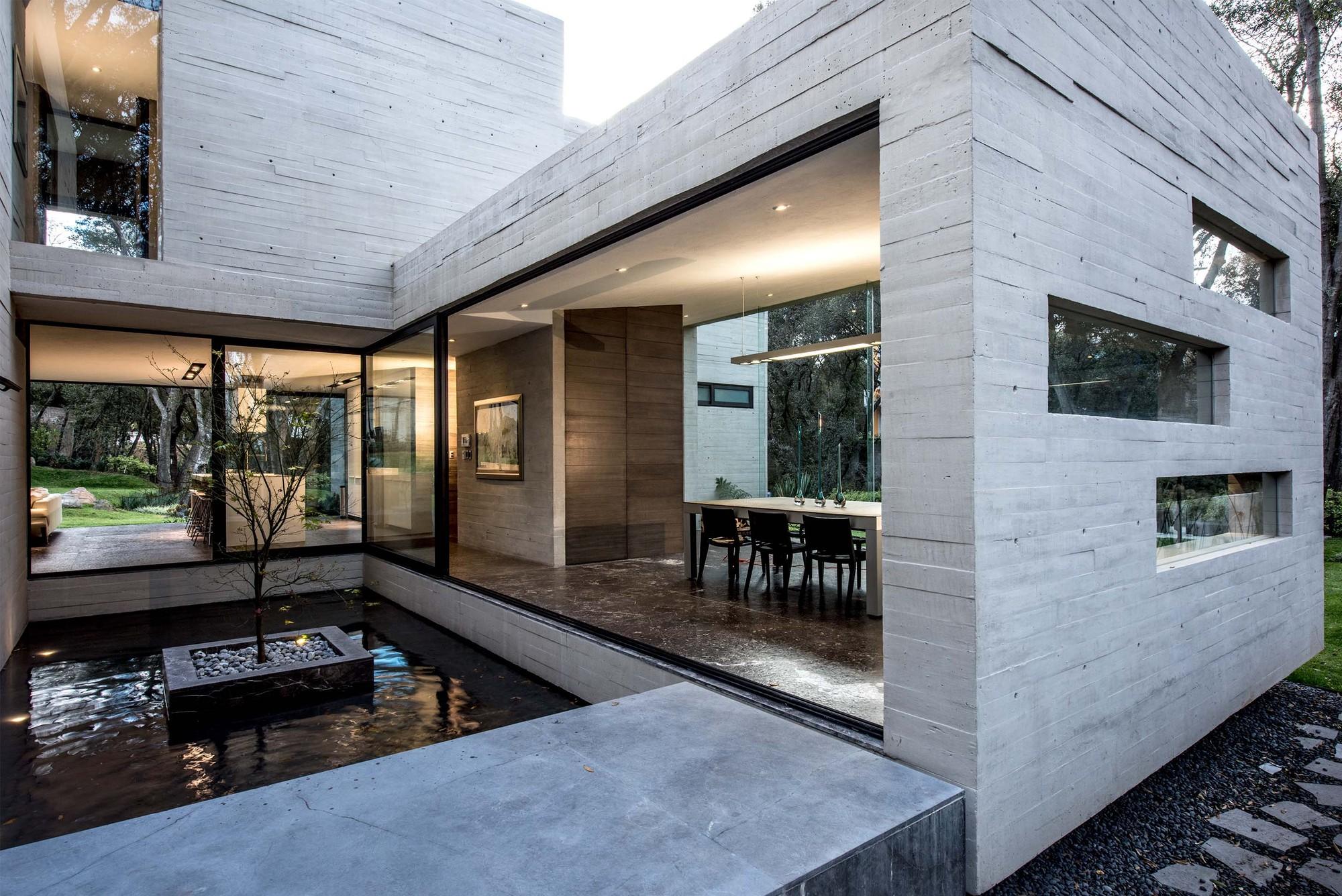 Casa Concreto Grupo MM ArchDaily