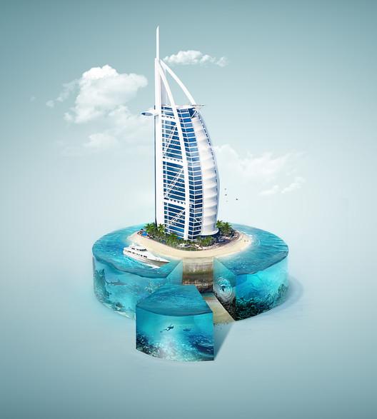 Burj Al Arab. Image © Fabio Araujo
