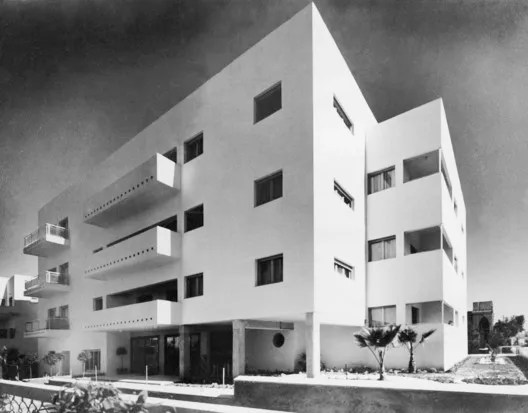 Zlotopolsky House, 9 Gorgod Street Tel Aviv Jaffa, Architect: Dov Karmi. Image © Itzhak Kalter